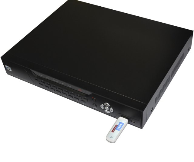 Видеонаблюдение через интернет для загородного дома с помощью 3G модема + DVR Atis