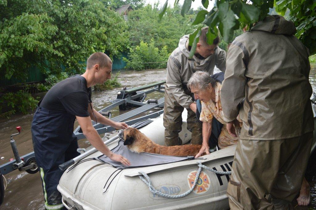 Какие области Украины под угрозой паводка