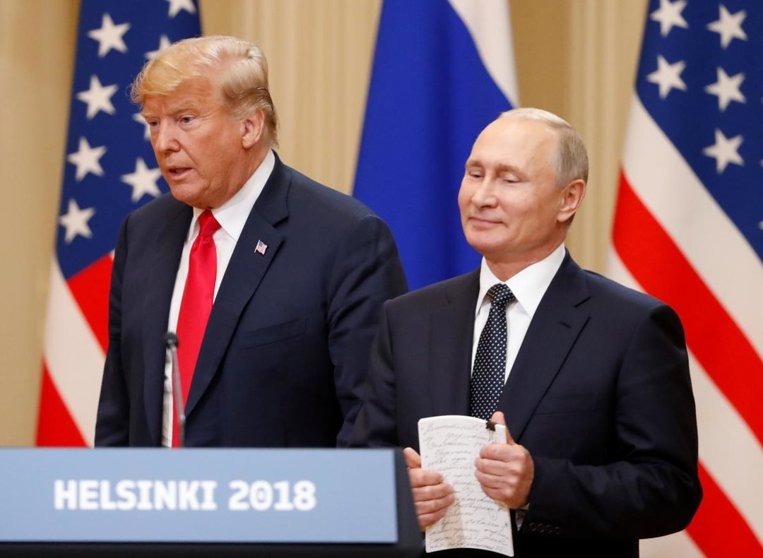 Путин предложил Трампу провести референдум на Донбассе — Bloomberg