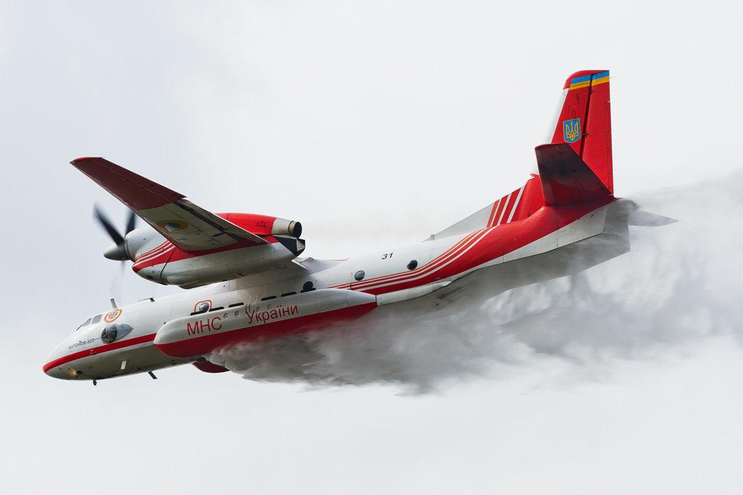 Украина отправит пожарный самолет ГСЧС в Швецию