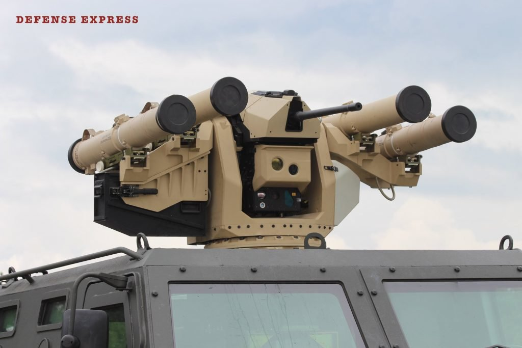 В Украине испытали боевой модуль, созданный совместно с турецкой Aselsan