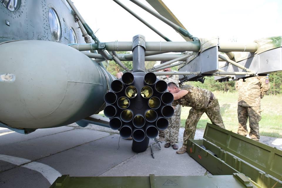 """Украина испытала авиаракеты """"Оскол"""""""