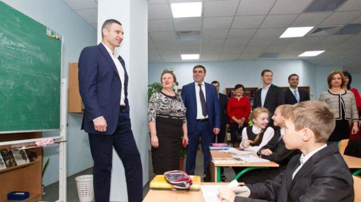 В Киеве на образование выделили 13 млрд грн в 2018 году — Кличко