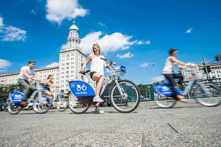 В середине августа в Киеве перезапустится сервис проката велосипедов Nextbike