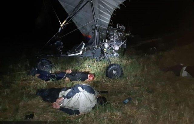 В Словакии задержаны украинцы, которые пытались переправить нелегала в ЕС на дельтаплане