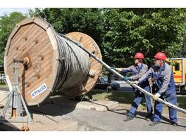 3-километровая высоковольтная кабельная линия построена в юго-восточном округе Москвы