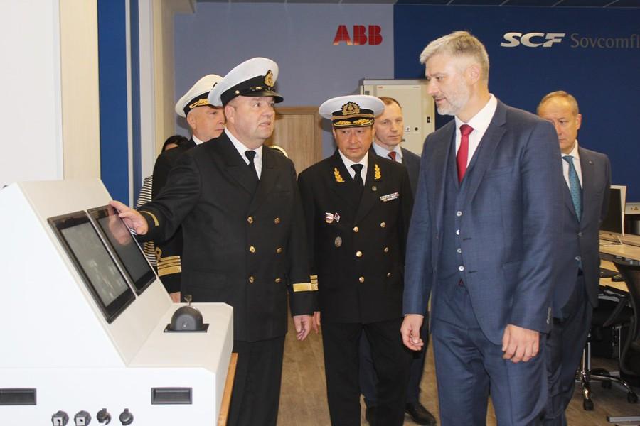 ABB и «Совкомфлот» открыли уникальный тренажерный центр в МГУ им. Г.И. Невельского