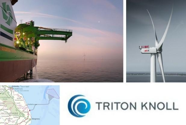 Siemens подключит к общей сети морскую ветроэлектростанцию Triton Knoll в Великобритании
