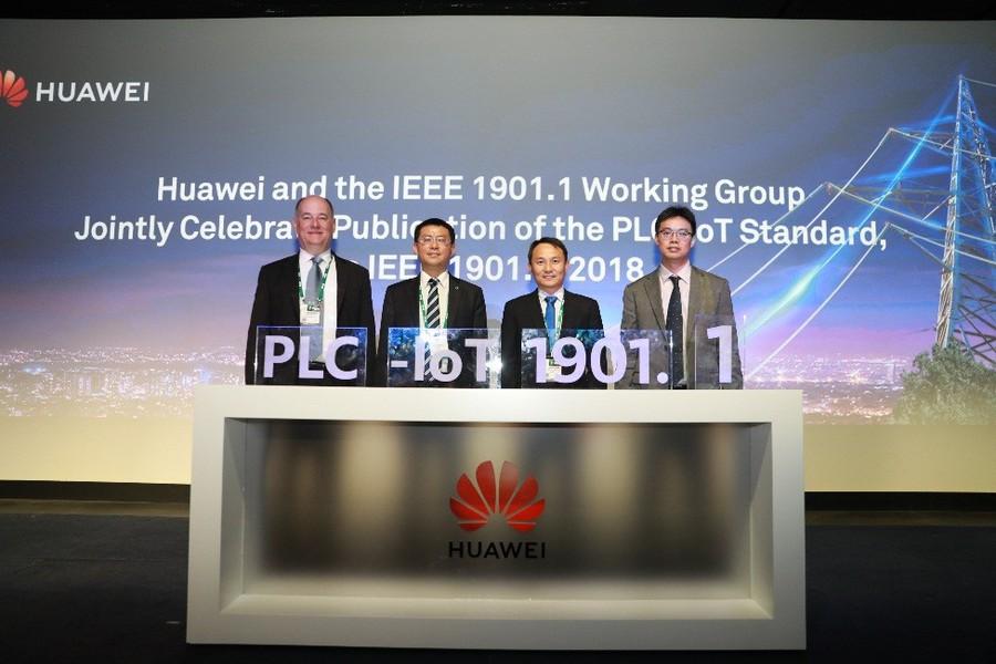 Huawei развивает умную энергетику