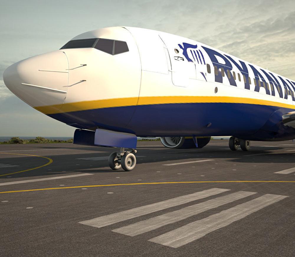Первый рейс Ryanair из Украины отправился в Берлин с полной загрузкой
