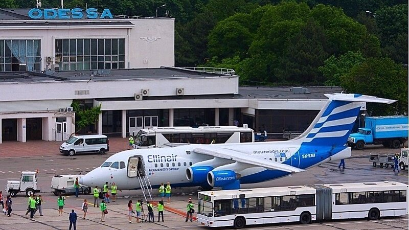 Аэропорт в Одессе реконструируют до конца 2019 года — финплан