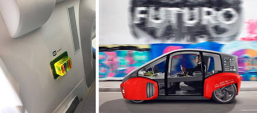Выставка GITEX в г. Дубай: Автомобиль Rinspeed «Oasis» – в центре внимания платформа miniMICA