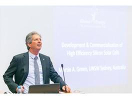 Лауреат премии «Глобальная энергия» Мартин Грин рассказал о своих разработках в области солнечной энергетики