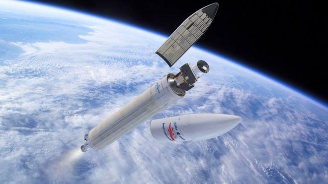 Европейско-японский космический зонд стартовал к Меркурию