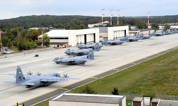 Крупнейшую в 21 веке партию боеприпасов доставили США в Германию