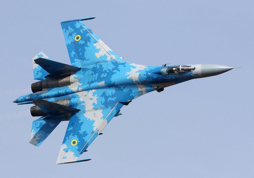 Во время учебно-боевого полета упал самолет Су-27, оба пилота погибли — Генштаб ВСУ