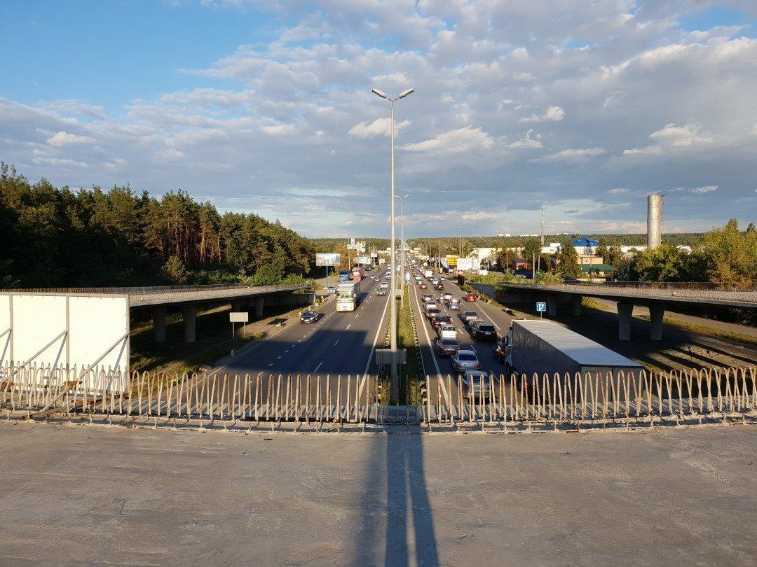 Возле Киева все же построят две транспортные развязки