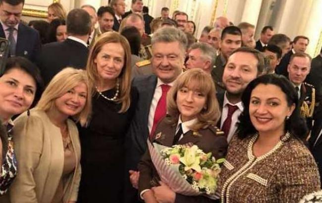 Впервые в истории Украины женщине присвоили звание генерала