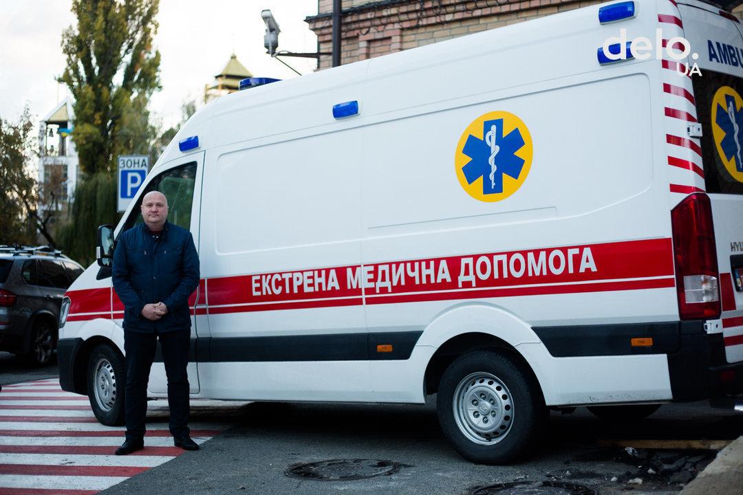 Более 50% автопарка скорой помощи в Украине требуют обновления — Briorson Motors