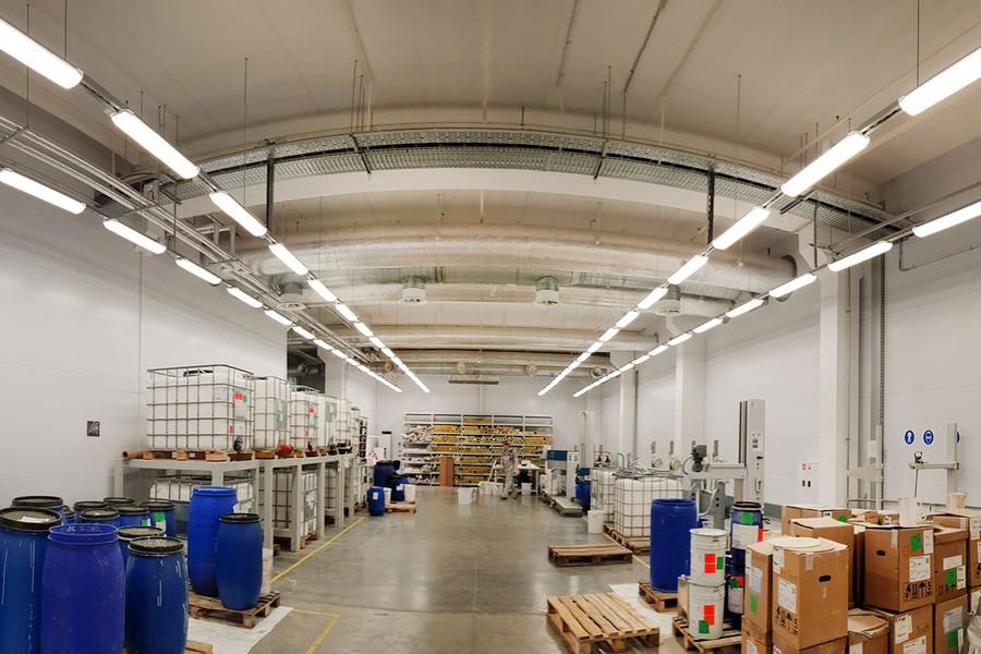 Компания «ЛЕД-Эффект» приняла участие в освещении обойной фабрики «Артекс»