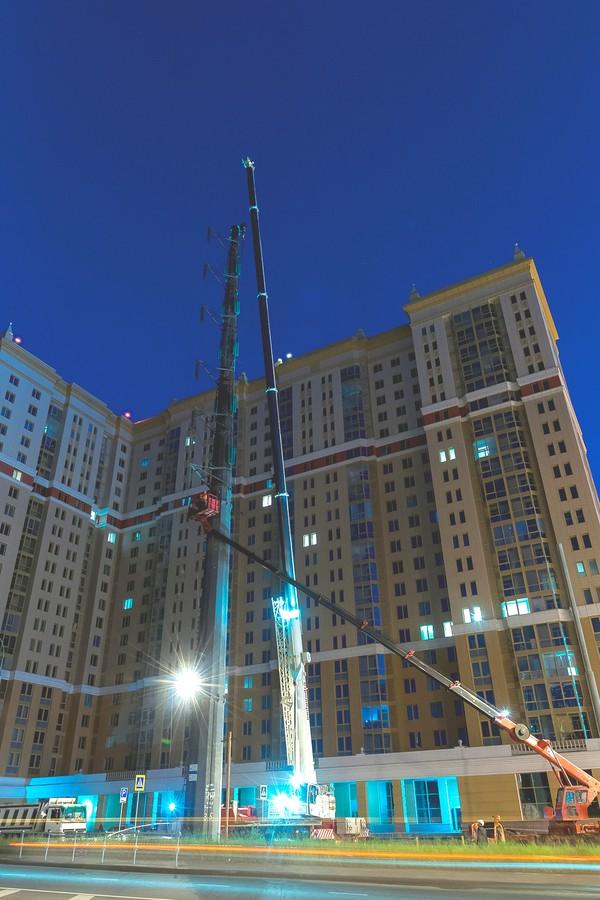 Реконструкция ЛЭП ПАО «МОЭСК» позволила освободить городские территории и снизить потери электроэнергии