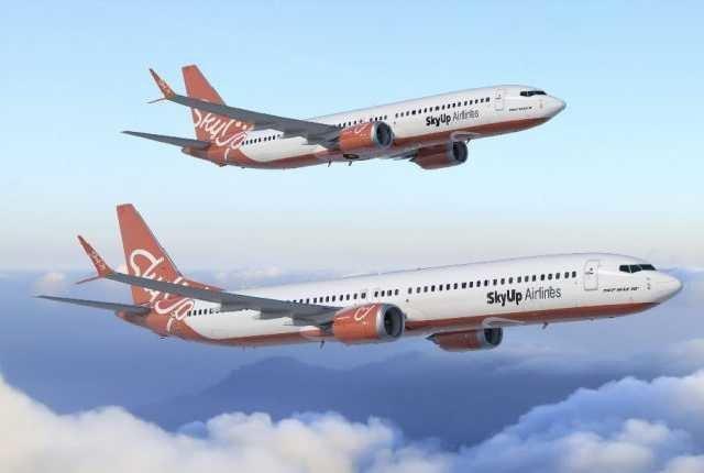 Лоукостер SkyUp получил право на шесть новых рейсов в Чехию, Черногорию и Израиль