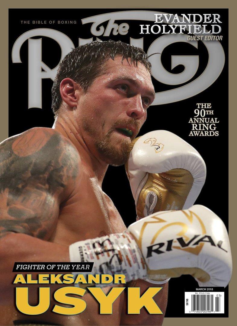Усик стал боксером года по версии The Ring