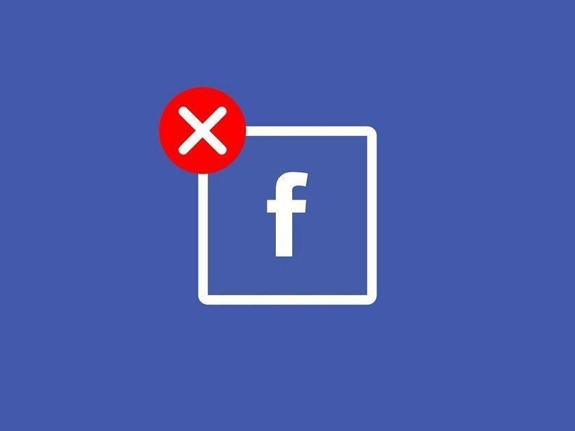 В Facebook произошел сбой