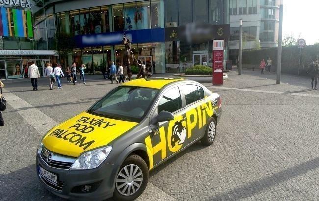 Во Львове запускается словацкий сервис такси Hopin