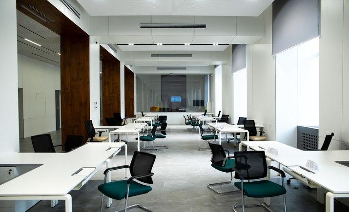 В помещении КГГА открыли общественное пространство