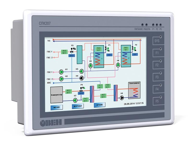 С 25 января 2019 года ОВЕН снимает с производства сенсорный панельный контроллер ОВЕН СПК207