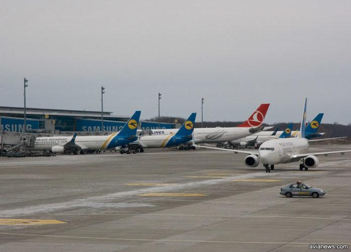 """Аэропорт """"Борисполь"""" обслужил в 2018 году 12,6 млн пассажиров"""