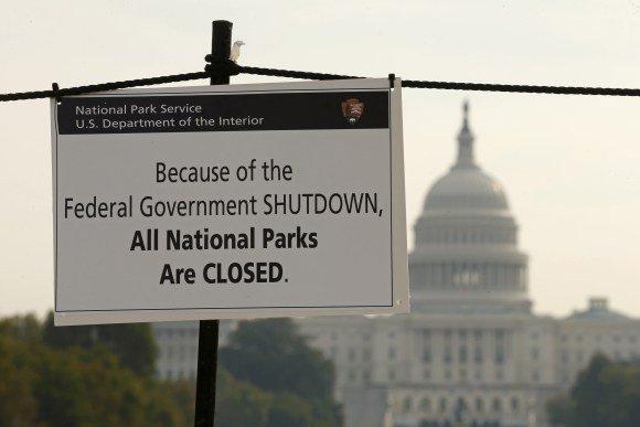 "Экономика США потеряла $6 млрд из-за ""шатдауна"""