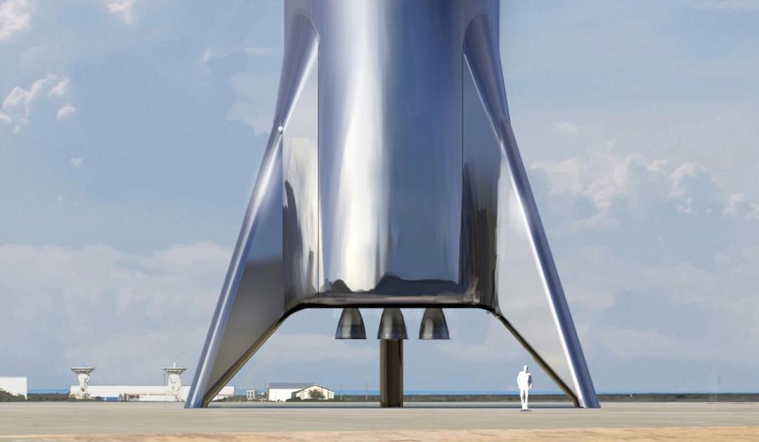 Илон Маск показал новую ракету для полетов на Марс