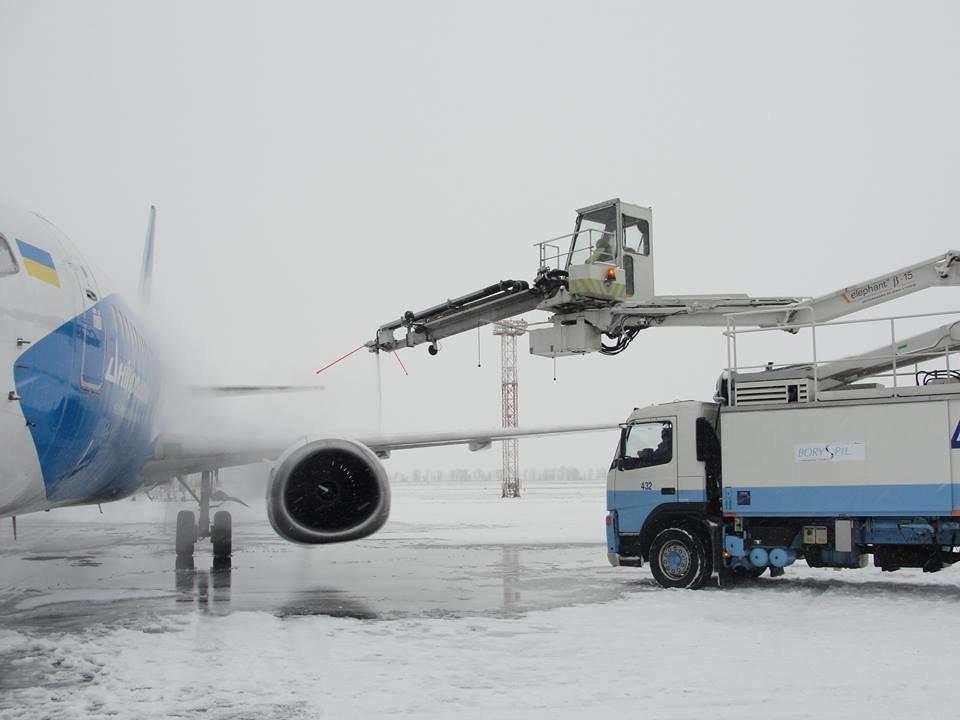 """В аэропорту """"Борисполь"""" предупреждают о возможных задержках рейсов из-за погодных условий"""
