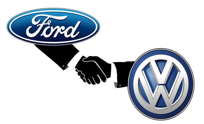 VW и Ford будут вместе разрабатывать автофургоны и пикапы