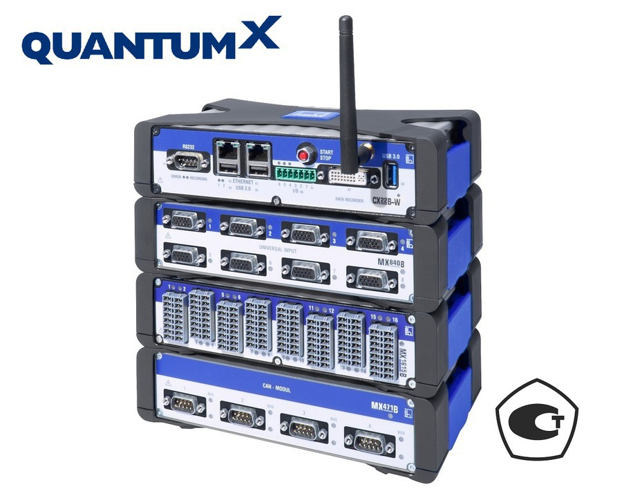QuantumX: одна система сбора данных для любых измерительных задач